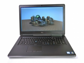 Dell Precesion 7710 (i7-6820HQ, RAM 16GB, SSD 512, M3000M-4GB, 17.3in FHD-IPS) MÁY TRẠM Siêu Bền Bỉ, Siêu Mạnh.