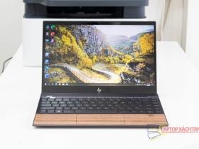HP Envy 13 - I7 1065G7, Ram 8G, SSD 512G, 13.3 In Cảm ứng Full HD, Thiết kế nhôm nguyên khối, ốp gỗ, siêu mỏng nhẹ